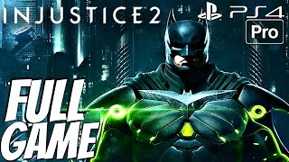 INJUSTICE 2 - Gameplay Walkthrough Part 1 FULL GAME (Story Mode) PS4 PRO ALL ENDINGS