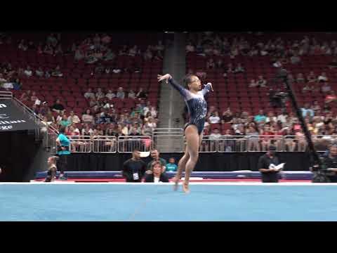 Morgan Hurd – Floor Exercise – 2019 GK U.S. Classic – Senior Competition