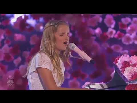 Evie Clair will compete in AGT finals after dad's death