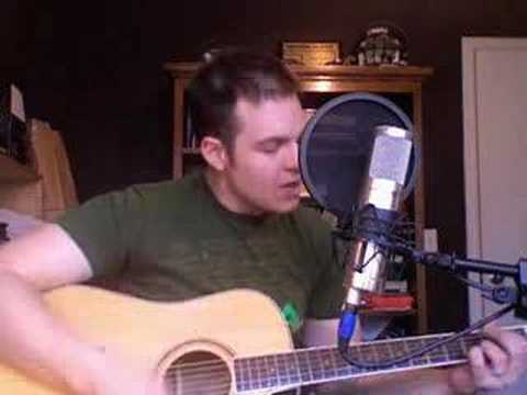 Running To Stand Still U2 Acoustic Cover With Chord Chart Youtube