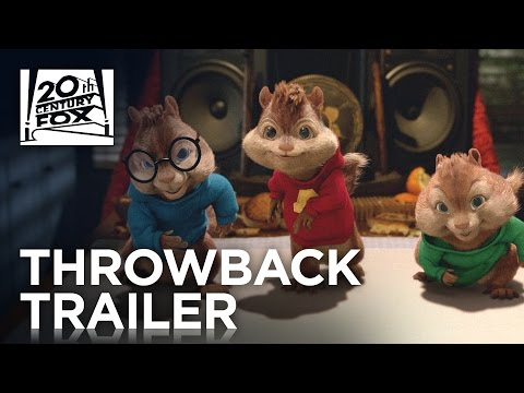 Alvin and The Chipmunks | #TBT Trailer | 20th Century FOX poster