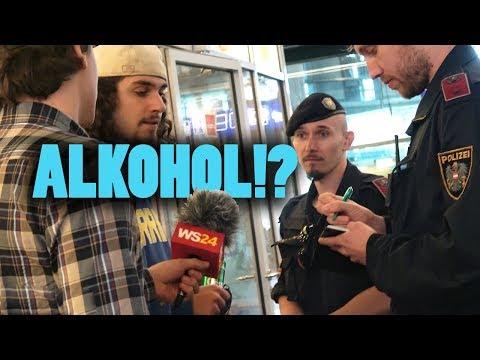 Amtshandlung live! Alkoholverbot