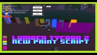 SLX TRIAL MODE ♦ New Exploiter ♦ Lumber Tycoon 2 Paint Script ♦ New Script ♦ ROBLOX