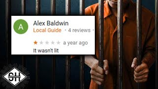 Google Reviews of Prisons
