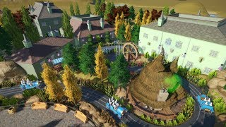 Let's Play Planet Coaster Episode 18 - Vintage Cars Ride