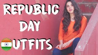 Republic Day 2019 Outfit Ideas! Quick & Easy Indian Tricolour Fashion Lookbook | Heli Ved