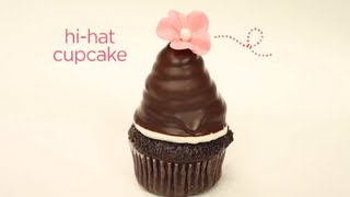 James Rosselle's Dipped Buttercream Hi-Hat Cupcake | Project Cupcake Craftsy Cake Decorating