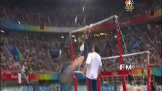 The Most Difficult Uneven Bars Routine In The World