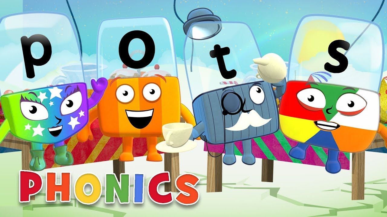 Download Phonics - Learn to Read | Four Letter Words! | Alphablocks