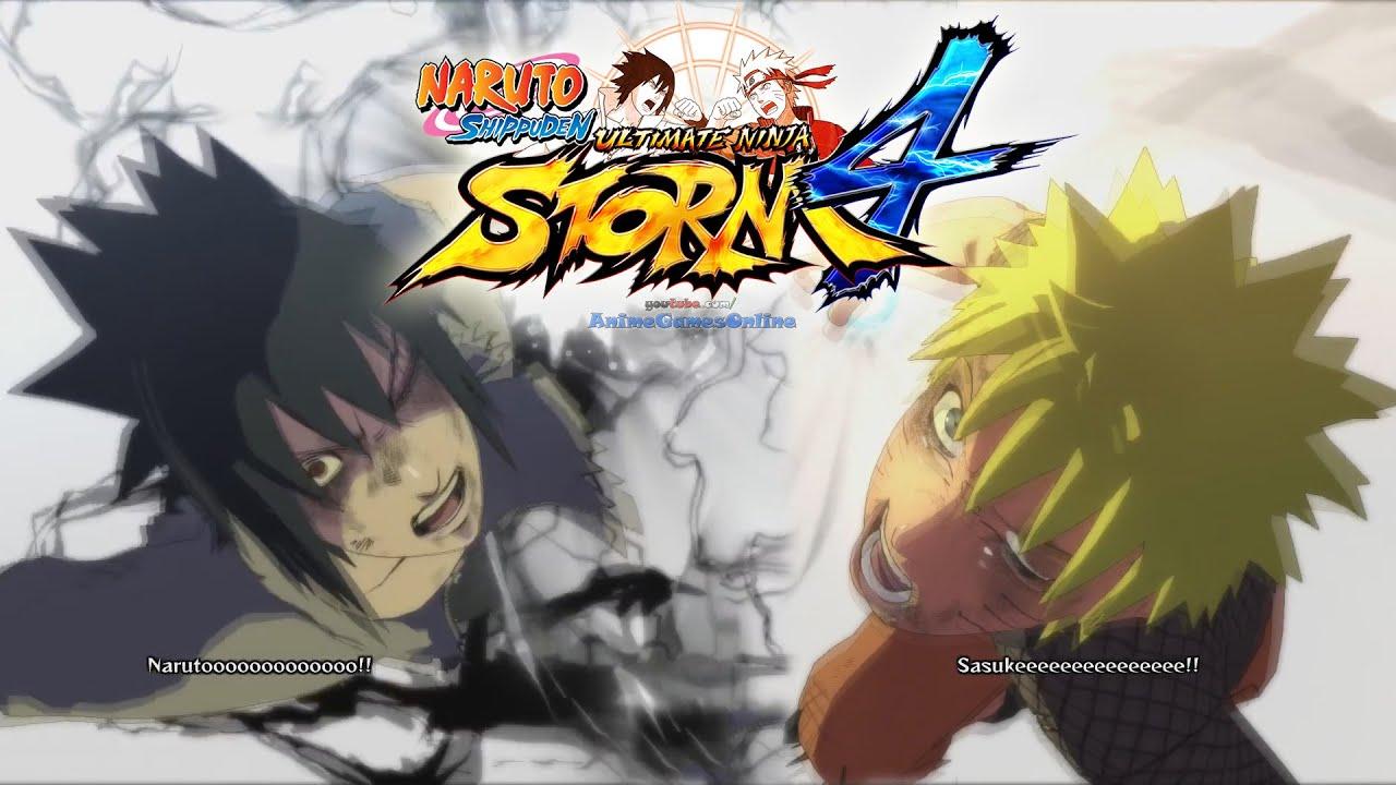 NARUTO vs SASUKE Shippuden Final Battle [ENGLISH DUB] Naruto Shippuden Ultimate Ninja Storm 4