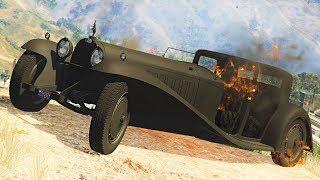 Реальная Жизнь в GTA 5 - УГНАЛ И ПОДЖЕГ Bugatti за 27.000.000$.