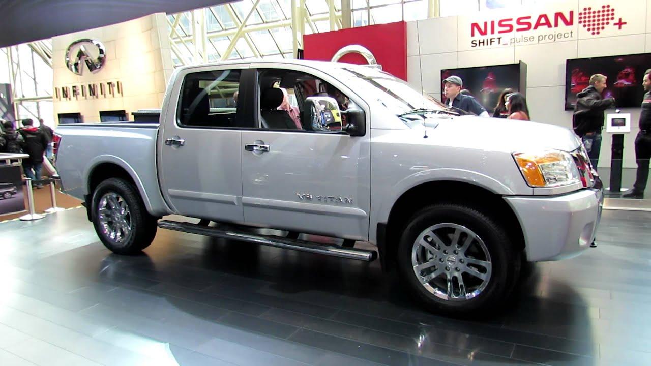 2012 nissan titan ls v8 4x4 exterior and interior at 2012. Black Bedroom Furniture Sets. Home Design Ideas