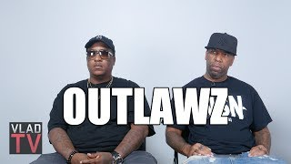 "Outlawz Deny Rumors that 2Pac Made a ""Deal with the Devil"" When Signing to Suge"
