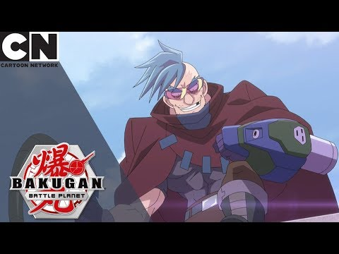 Bakugan: Battle Planet | The Awesome Ones Vs Strata The Hunter | Cartoon Network UK