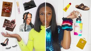 BLACK GIRL TURNS INTO A VSCO GIRL FOR A DAY! | Coco Chinelo