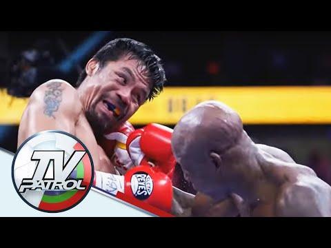 Manny Pacquiao talo vs Cuban boxer Yordenis Ugas   TV Patrol