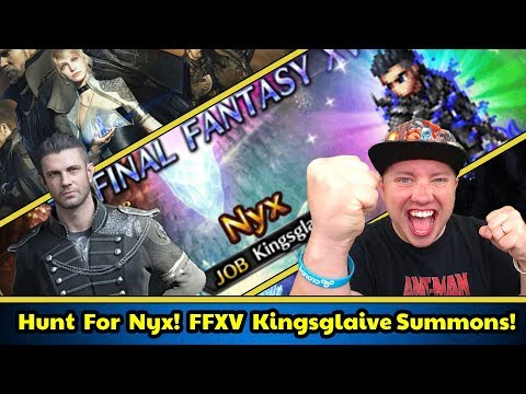 [FFBE] Final Fantasy Brave Exvius - Can We Pull a Nyx?!