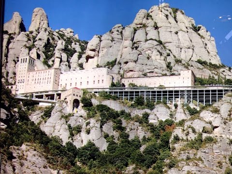 Montserrat, Day tour from Barcelona Spain. Best ever in Cata