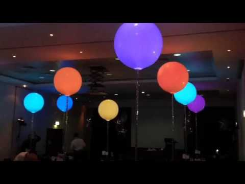 sparkle lights and 3ft balloons youtube