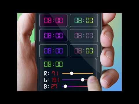 Digital Clock Widget - Analog Clock Live Wallpaper