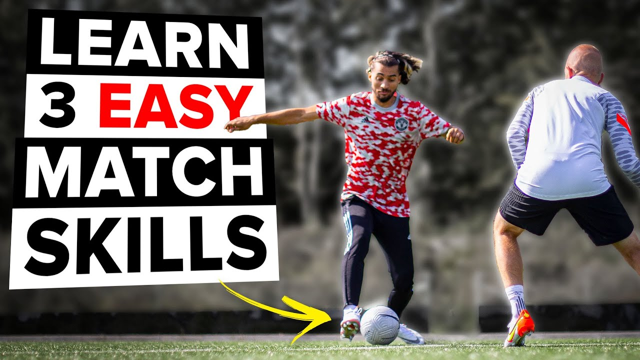LEARN 3 MATCH SKILLS TO BEAT DEFENDERS