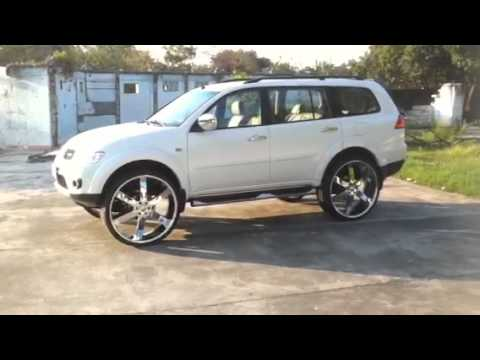 Pajero Sport 28 Quot Rims Youtube