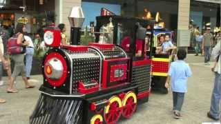 CANCION TREN DEL OESTE:  Tren Infantil para plazas comerciales.
