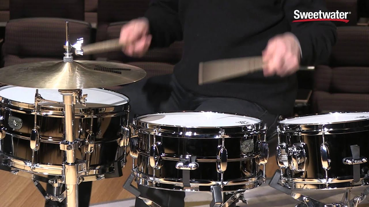 Tama Metalworks Steel Snare Drums Review by Sweetwater Sound