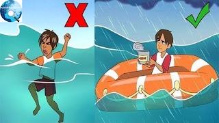 Phải làm sao để sống sót nếu lỡ bị trôi dạt ra biển?