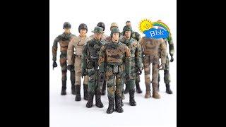 Домашние сражения игрушек ↑ Военные солдатики,  нёрфы, мечи ↑ Обзор игрушек