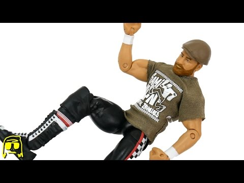 Sami Zayn WWE Then Now Forever Walmart Exclusive Elite Mattel Toy Unboxing & Review!!