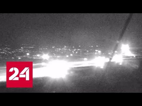 Авиалайнер с пассажирами чудом ушел от ракеты: посадка попала на видео - Россия 24