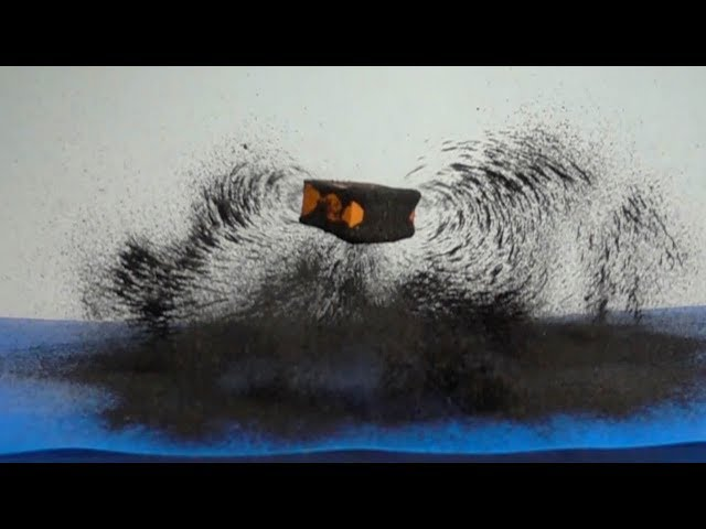 Mesmerising Slow-Motion Magnetic Fields