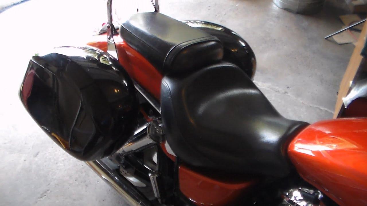 Hard Bags Installed On Honda Vtx 1800