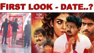 SUPER UPDATE: Thalapathy 63 First Look Date..?