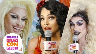 Who is Your Instagram Crush? at RuPaul's DragCon LA 2018