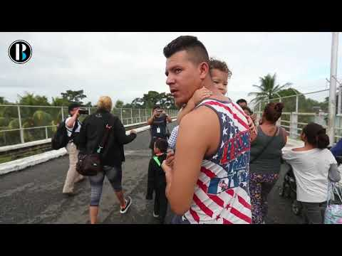 Diez días de la caravana migrante hacia EE UU