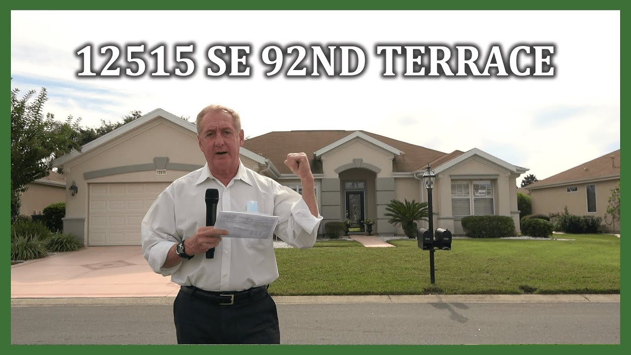 Tour Of 12515 Se 92nd Terrace Summerfield Fl In Del Webb Spruce Creek With Ira Miller Youtube
