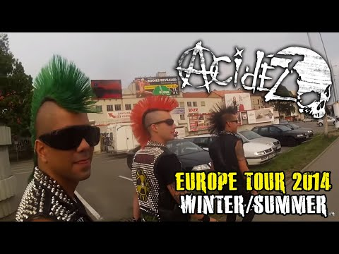 Acidez- Europe-Tour 2014 (Official Documentary)HD720