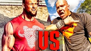 Bodybuilder VS Strongman - STRENGTH WARS 2k16 #15