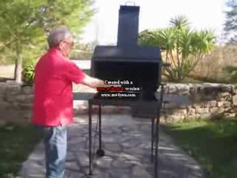Barbacoa casera desmontable con m ltiples aplicaciones youtube - Como se construye una barbacoa ...