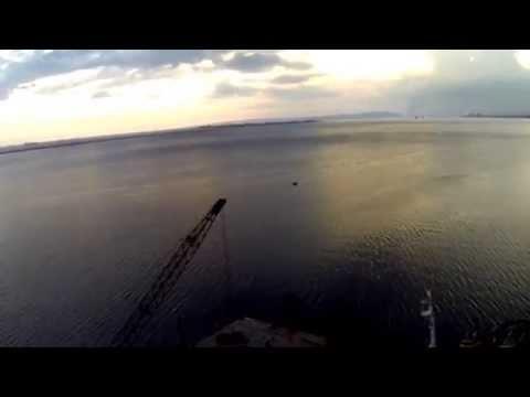 Kingston Harbour Aerial Video, Kingston, Jamaica