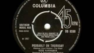 Ross Hannaman - Probably On Thursday
