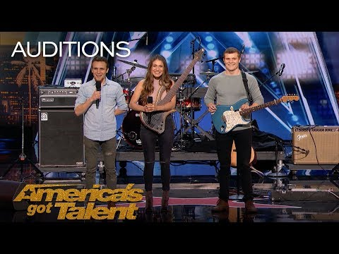 We Three: Family Band Performs Song Tribute For Mother With Cancer - America's Got Talent 2018 Mp3