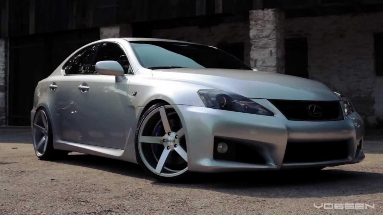 Lexus IS F on 20 Vossen VVS CV3 Concave Wheels Rims YouTube  YouTube