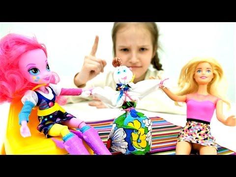 Мастер - класс КУКЛА для БАРБИ своими руками 🙌Делаем куклу из ткани ✂ Мастерская #Барби