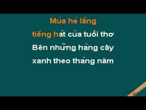 Mua He Karaoke - The Bells - CaoCuongPro
