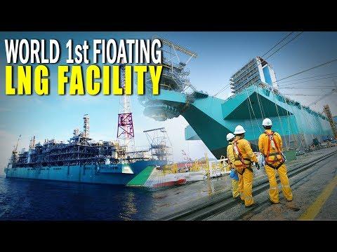 समंदर में बसा पेहला Gas स्टेशन और यहांसे निकालते हे खतरनाक Natural Gas | LNG Facility