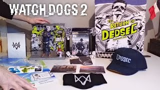 Unboxing Watch Dogs 2 Collector