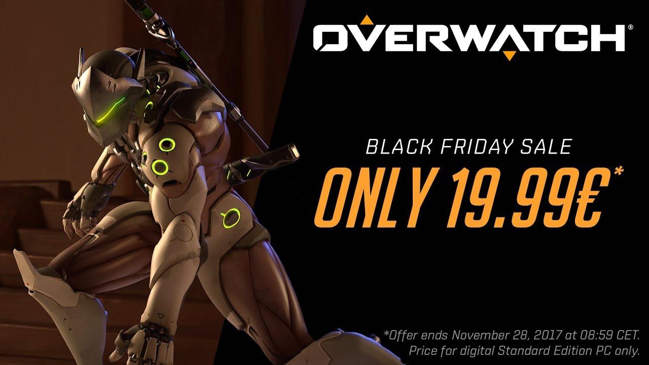 Black Friday Sale Overwatch Starting At 19 99 Overwatch Blizzard News